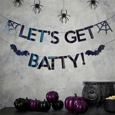 Lets Get Batty Bunting
