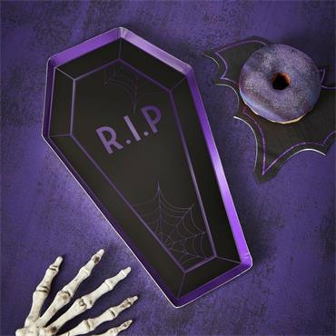 Coffin Paper Plates