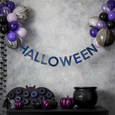 Banner & Balloons Halloween Kit