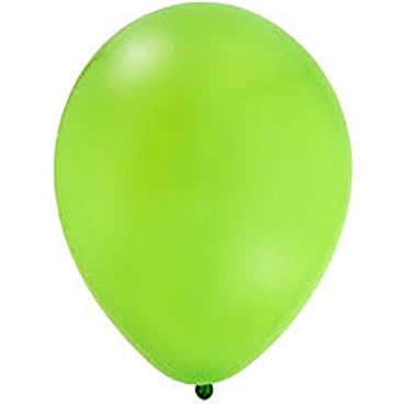 "Lime Green Latex Balloons 12"""