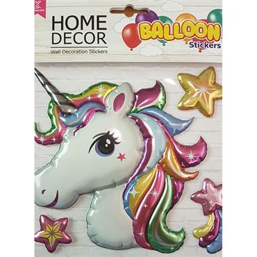 Foil Room Stickers - Unicorn