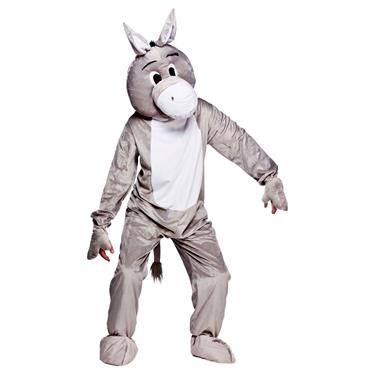 Donkey Animal Mascot Costume