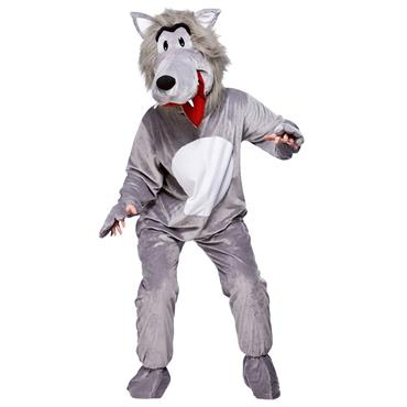 Big Bad Grey Wolf Costume
