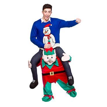 Carry Me Mascot - Christmas Elf