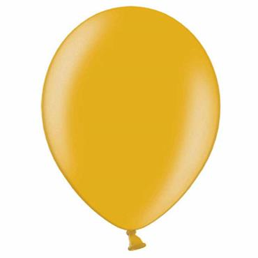 "Gold Metallic Latex Balloons 12"" (100pk)"