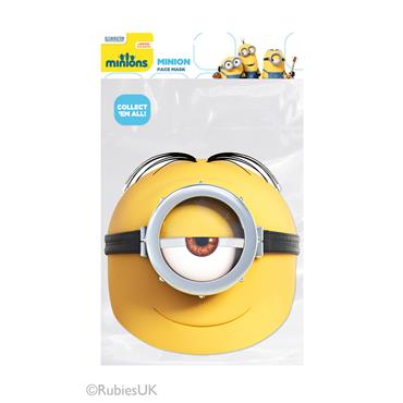 Minion Stuart Face Mask