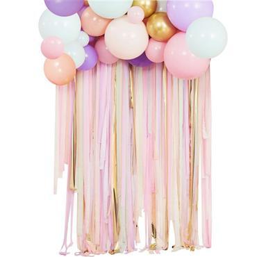 Streamer & Balloon Party Backd