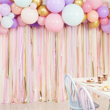 Streamer & Balloon Party Backd