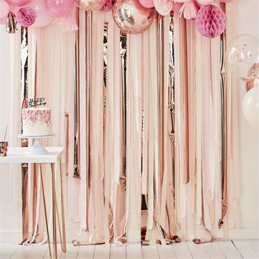 Party Streamers Backdrop