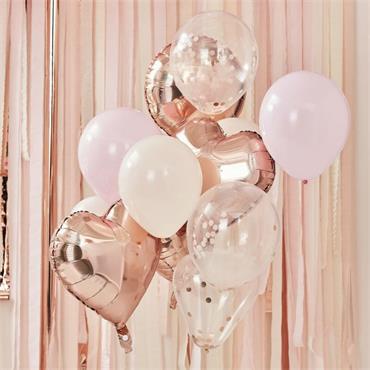 Blush & Rose Gold Balloon Bund