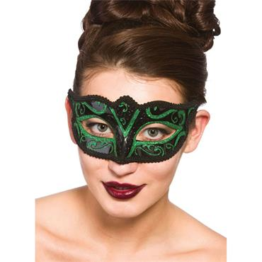 Verona Eye Mask - Black & Gree