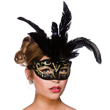 Milano Eyemask - Gold Glitter
