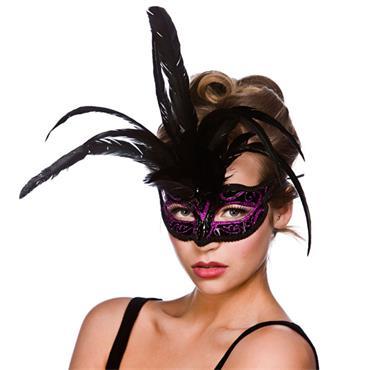 Milano Eyemask - Purple Glitter