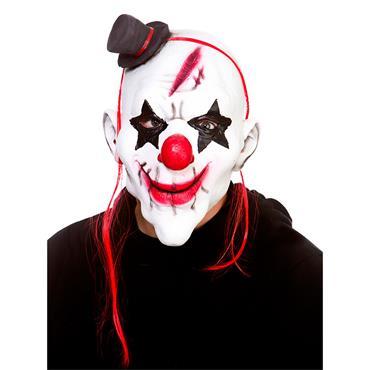 Latex Mask - Evil Clown