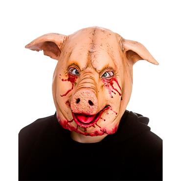 Latex Mask - Horror Pig