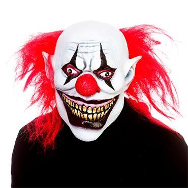 Latex Mask - Big Mouth Clown