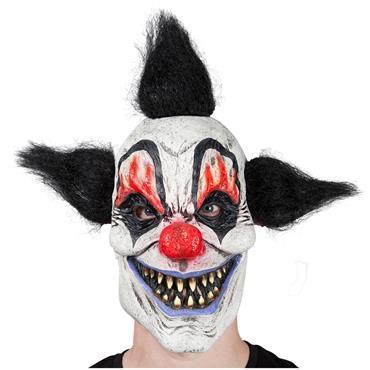 Latex Mask - Crazy Clown