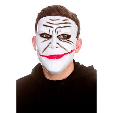 Evil Prankster Mask - White