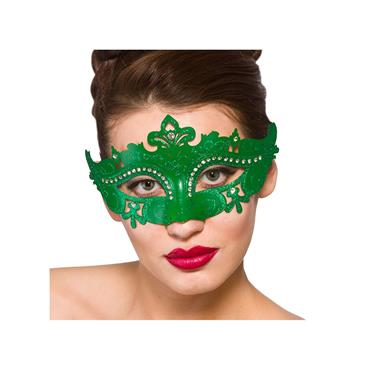 Metal Demonte Eye Mask - Green
