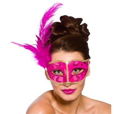 Bellini Eye Mask - Pink & Gold