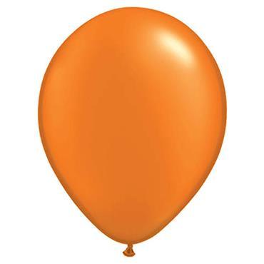 """Orange Latex Balloons 12"""""""