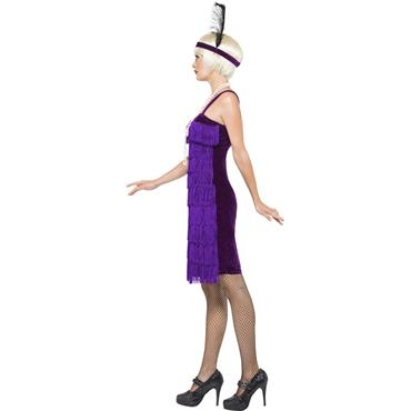 Jazz Flapper Costume - Lilac