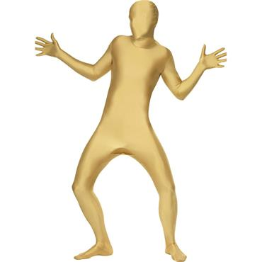 Second Skin Gold Costume