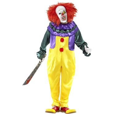 Classic Horror Clown Costume (Pennywise - IT)