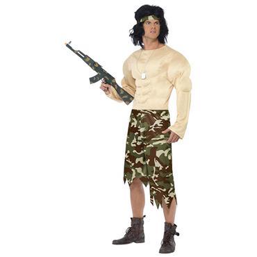 Muscle Man (Rambo) Costume