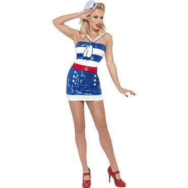 Fever Sequin Sailor Costume