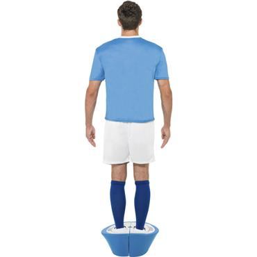 Subbuteo Blue Strip Costume