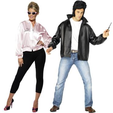 T-Bird & Pink Lady Couples Costumes (Grease)