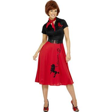 50s Style Poodle Dress Costume