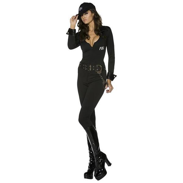 Fbi Costume Womens