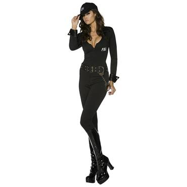 Fever FBI Flirt Uniform Costume