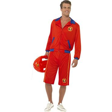 Baywatch Beach Mans Costume