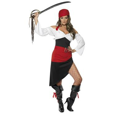 Sassy Pirate Wench Costume