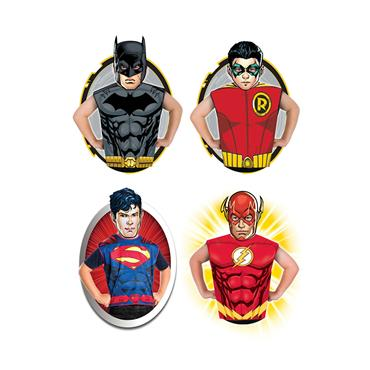 DC Comics Dress Up Set (Superman, Batman, Flash & Robin)