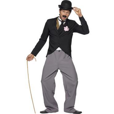 1920's Star (Charlie Chaplin) Costume
