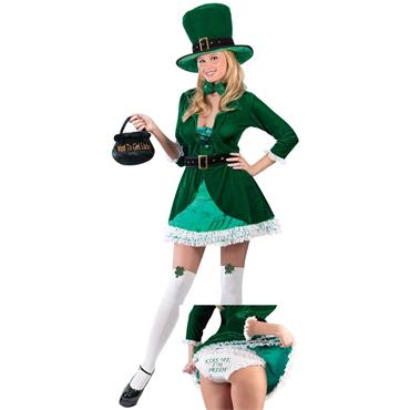 Sexy Leprechaun Adult Costume