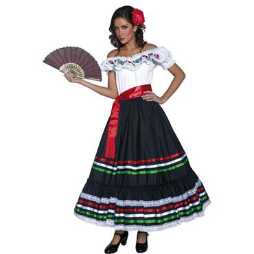 Authentic Senorita Costume - Cinco de Mayo