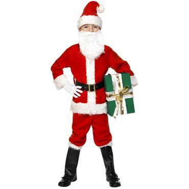 Deluxe Santa Costume (Kids)