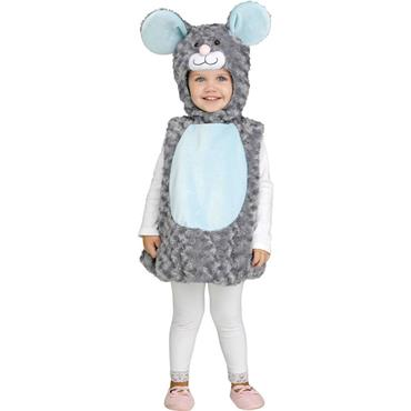 Lil' Grey Mouse Toddler Costume