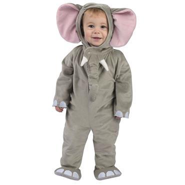 Cuddly Elephant Baby Costume