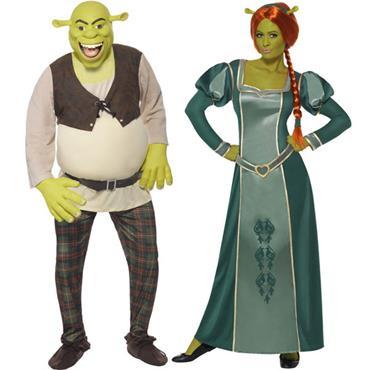 Shrek & Fiona Couples Costume