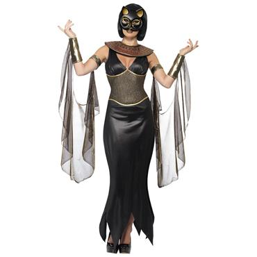 Bastet the Cat Goddess Costume - Black