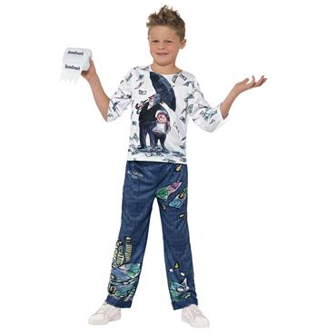 David Walliams Billionaire Boy Costume