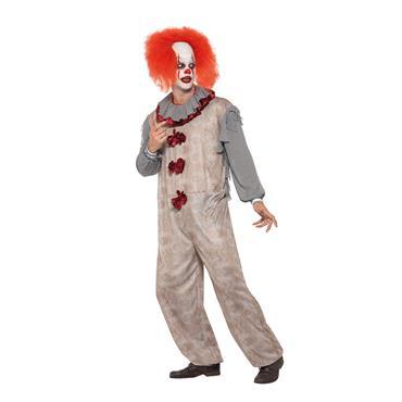 Vintage Clown Costume - IT