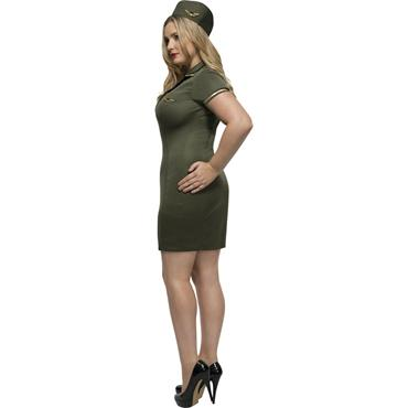 Curves Army Costume
