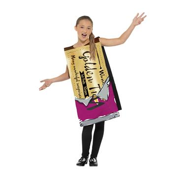 Roald Dahl Winning Wonka Bar Costume